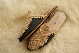 Black Gold - Moroccan Slip-On