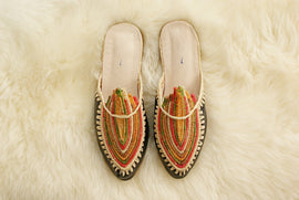 Arabian Night (Black) - Moroccan Slip-On