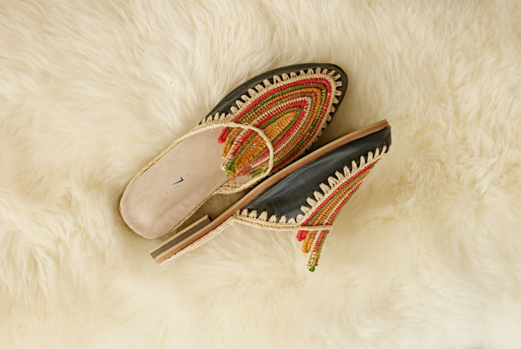 Moroccan Slip-Ons