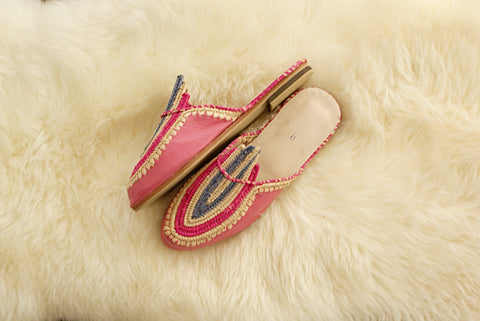 Cotton Candy - Moroccan Slip-On
