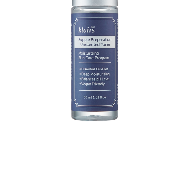 SUPPLE PREPARATION UNSCENTED TONER TRIAL SIZE 30ML