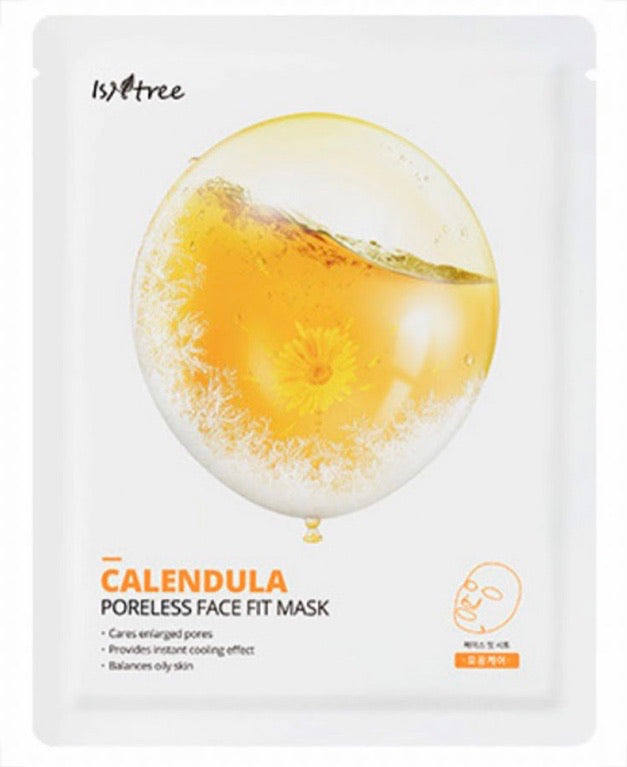 ISNTREE CALENDULA PORELESS FACE FIT SHEET MASK
