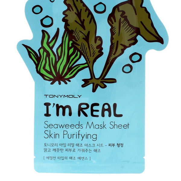 TONYMOLY I'M REAL SEAWEED SHEET MASK 20ML