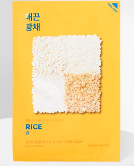 Holika Holika Pure Essence Rice Sheet Mask