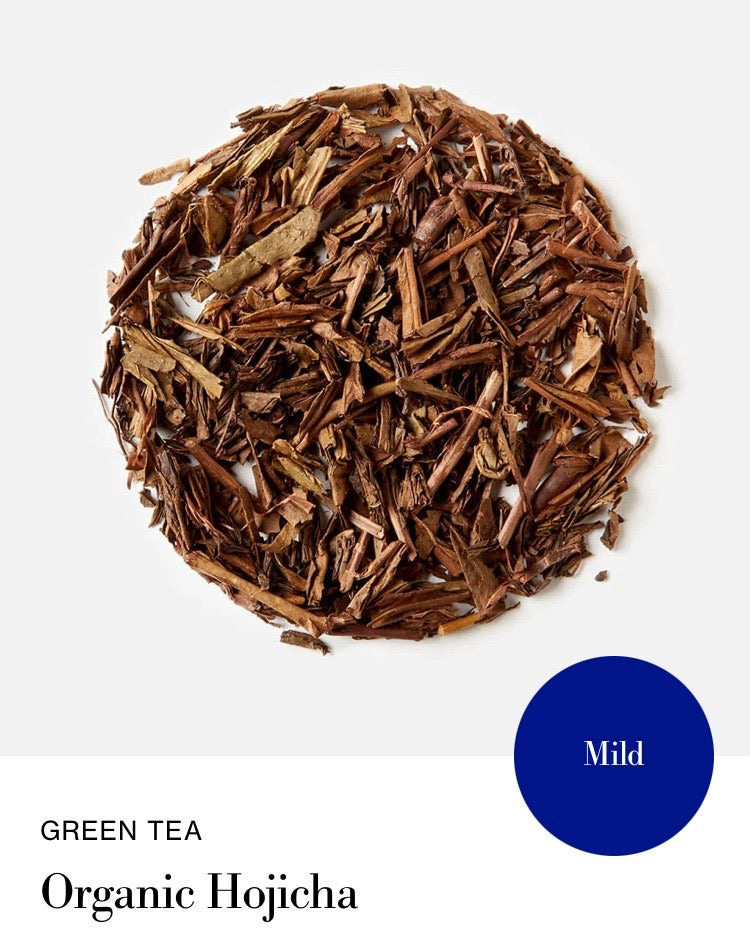 Blink Tea's Organic Hojicha Tea   - Loose Leaf (Green Tea)
