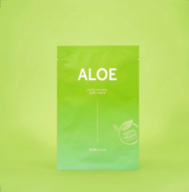 Barulab Clean Vegan Mask - Aloe (Soothing)