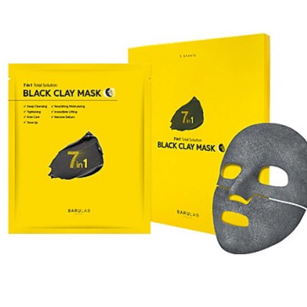 Barulab 7 in 1 Black Clay Mask 20mg
