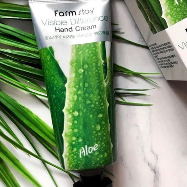 FARM STAY HAND CREAM ALOE 100ML