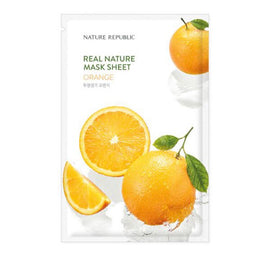 Nature Republic Real Nature Orange Sheet Mask 23g
