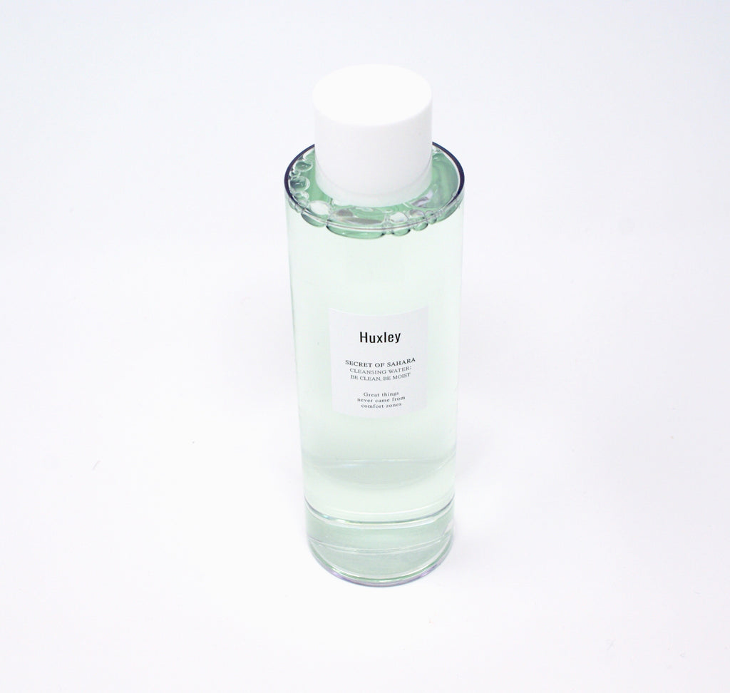 Huxley Secret Of Sahara Be Clean Be Moist Cleansing Water
