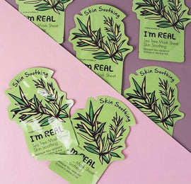 TONYMOLY I'M REAL TEA TREE SHEET MASK 20ML