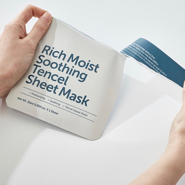KLAIRS RICH MOIST SOOTHING TENCEL SHEET MASK 25ML