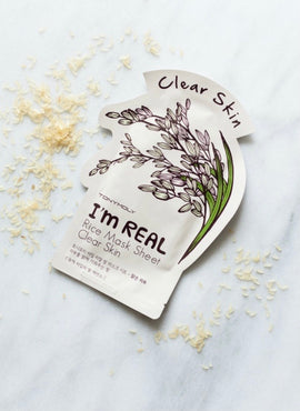 TONYMOLY I'M REAL RICE SHEET MASK 20ML