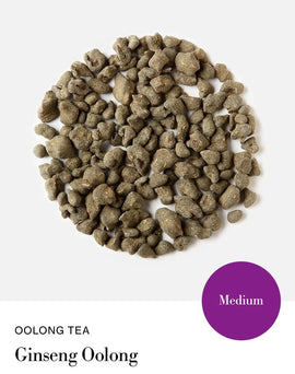 Blink Tea's Ginseng Oolong  - Loose Leaf Tea