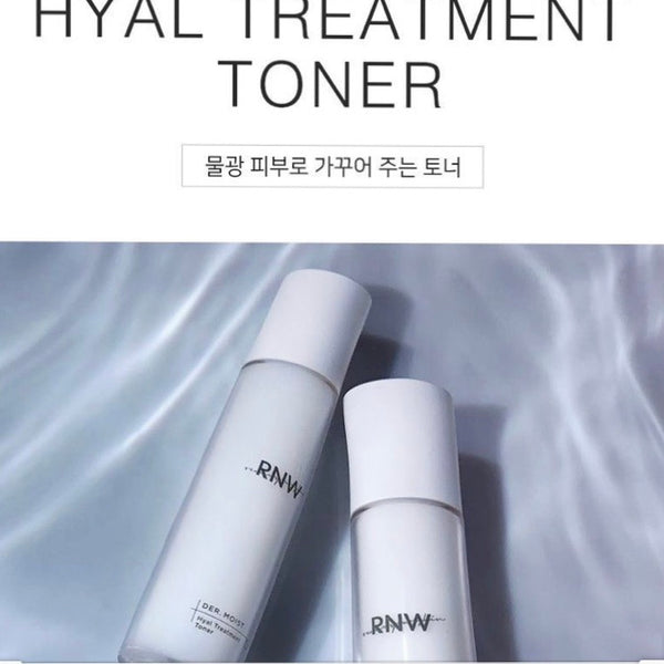 RNW (Renew Your Skin) Der. Moist Hyaluronic Treatment Toner 125ml