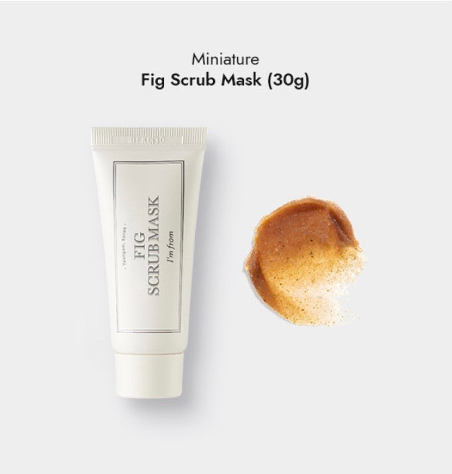 I'M FROM FIG SCRUB MASK TRIAL SIZE 30ML