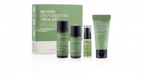 BENTON GREEN TEA DELUXE 4 GIFT SET 75ML