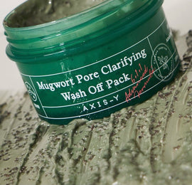 AXIS-Y MUGWORT PORE CLARIFYING WASH OFF PACK 100ML
