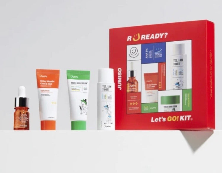 JUMISO LET'S GO KIT GIFT SET LIMITED EDITOIN