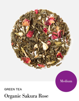 Blink Tea's  Organic Sakura Rose - Loose Leaf (Green Tea)