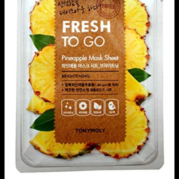 Tonymoly Fresh To Go Pineapple Sheet Mask 20mg