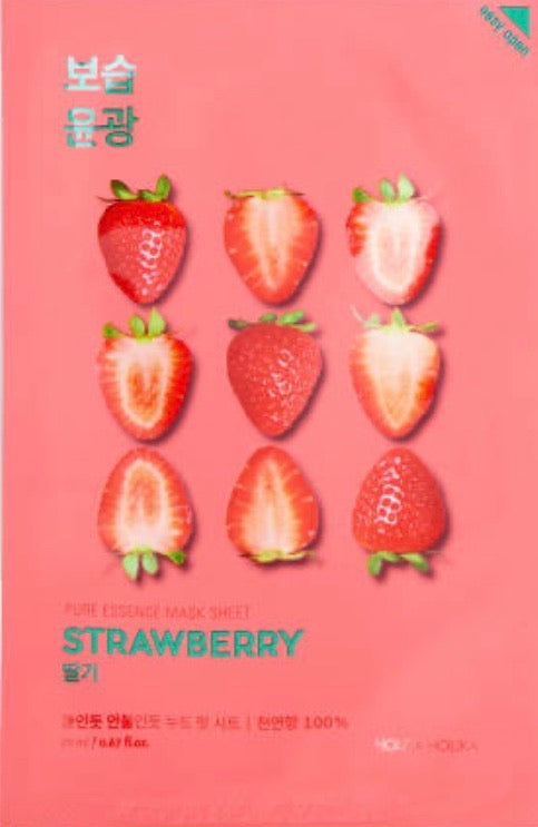 Holika Holika Pure Essence Mask Sheet Strawberry 20ml