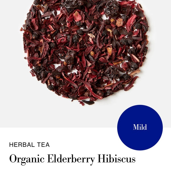 Blink Tea's Organic Elderberry Hibiscus  - Loose Leaf Tea