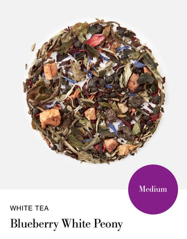 Blink Tea's Blueberry White Peony - Loose Leaf (White Tea)