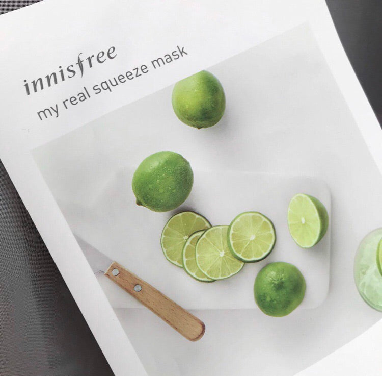 Innisfree It's Real Squeeze Mask Lime 20ml