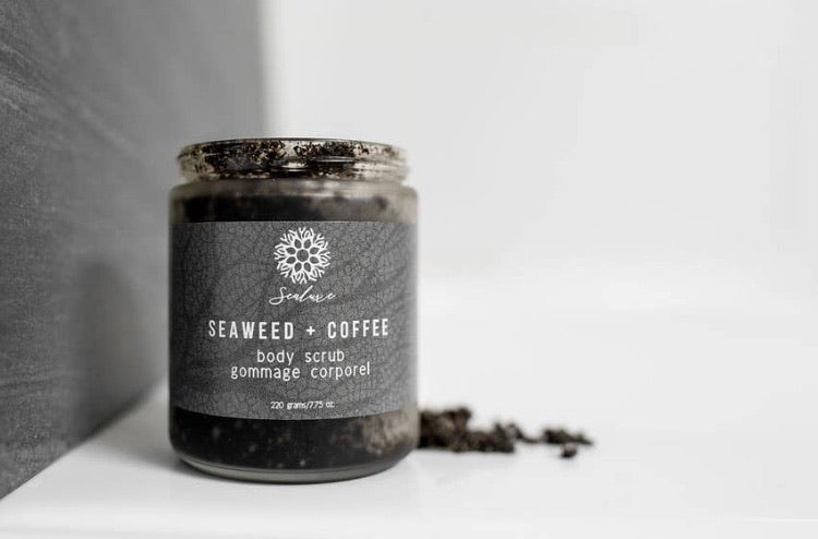 Sealuxe Organic Seaweed & Coffee Body Exfoliator