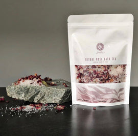 Sealuxe Ritual Organic Rose Bath Salts
