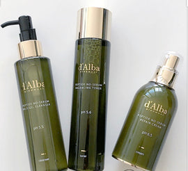 (Oily/Combination/Sensitive) D'Alba Peptide No Sebum 3 Step Routine Set