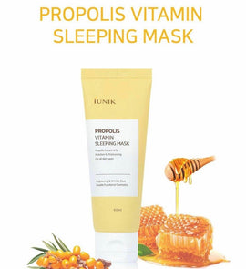IUNIK PROPOLIS VITAMIN SLEEPING MASK 60ML