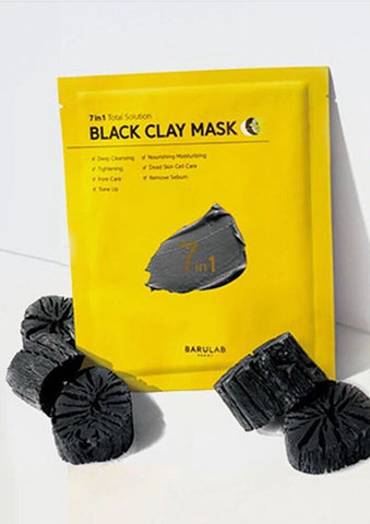 Barulab 7 in 1 Black Clay Mask (5 Pack) 100mg