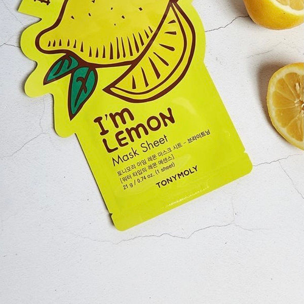 TONYMOLY I'M REAL LEMON SHEET MASK 20ML