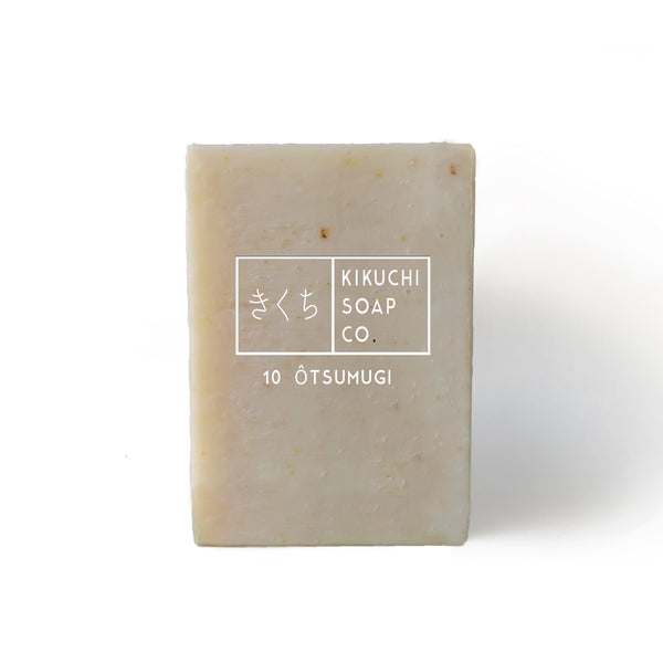 KIKUCHI SOAP CO. 010 ÔTSAMUGI BAR SOAP WITH OATMEAL & COCONUT MILK 100ML