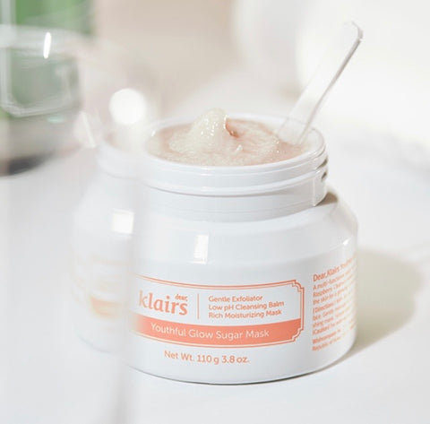 KLAIRS YOUTHFUL GLOW SUGAR MASK 110ML