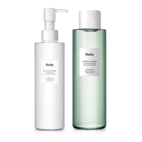 (All Skin Types) Huxley Secret of Sahara Cleansing Duo 400ml