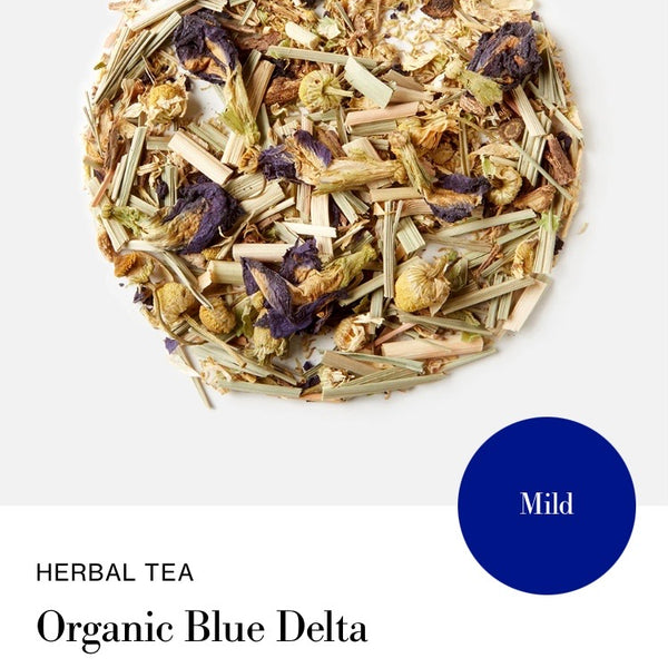Blink Tea's Organic Blue Delta  - Loose Leaf Tea