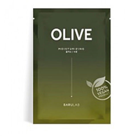 Barulab Clean Vegan Mask - Olive (Moisturizing)
