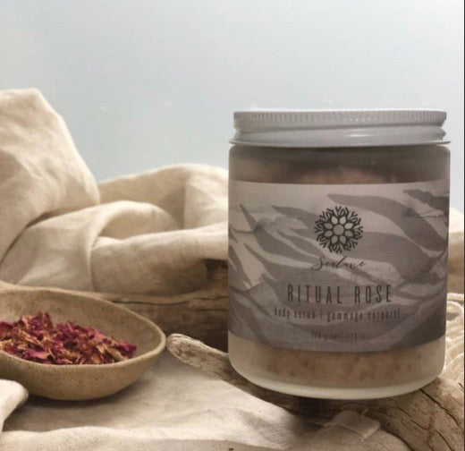 SEALUXE ORGANIC RITUAL ROSE BODY EXFOLIATOR