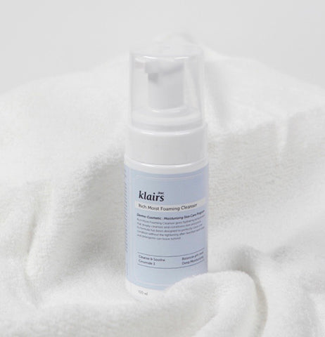 KLAIRS RICH MOIST FOAMING CLEANSER 100ML