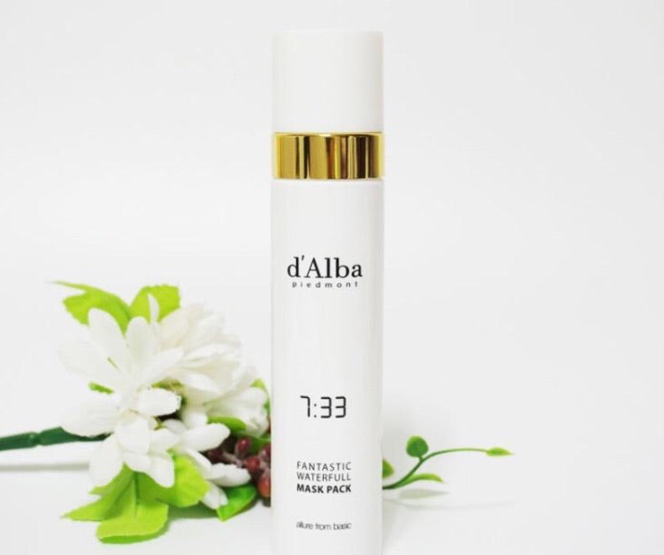 d'Alba Fantastic Waterfull Spray Mask 100ml