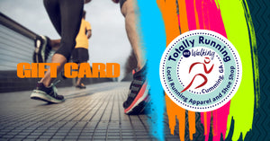 Totally Running and Walking Gift Card