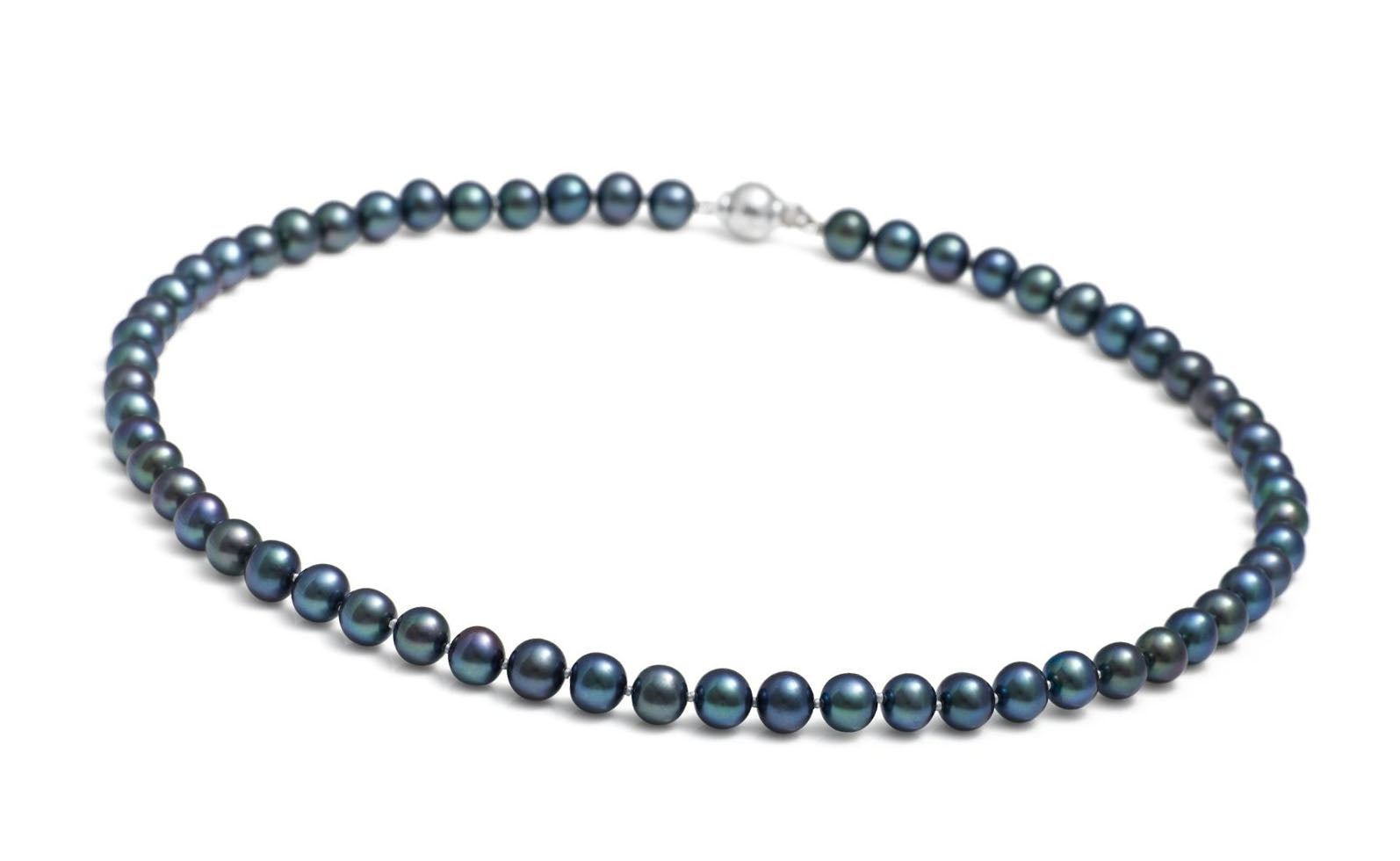 StunningBoutique Ellena Freshwater Pearls 9-10 mm 18 inches Black Pearls Necklace *Presented in gift Box* Asj2PUnR4n