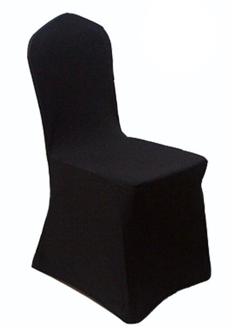 Heavy Duty Spandex Chair Cover  - Black