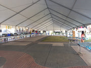 40'x195' Complete Keder Structure Frame Tent System- Portable Building, Event Tent
