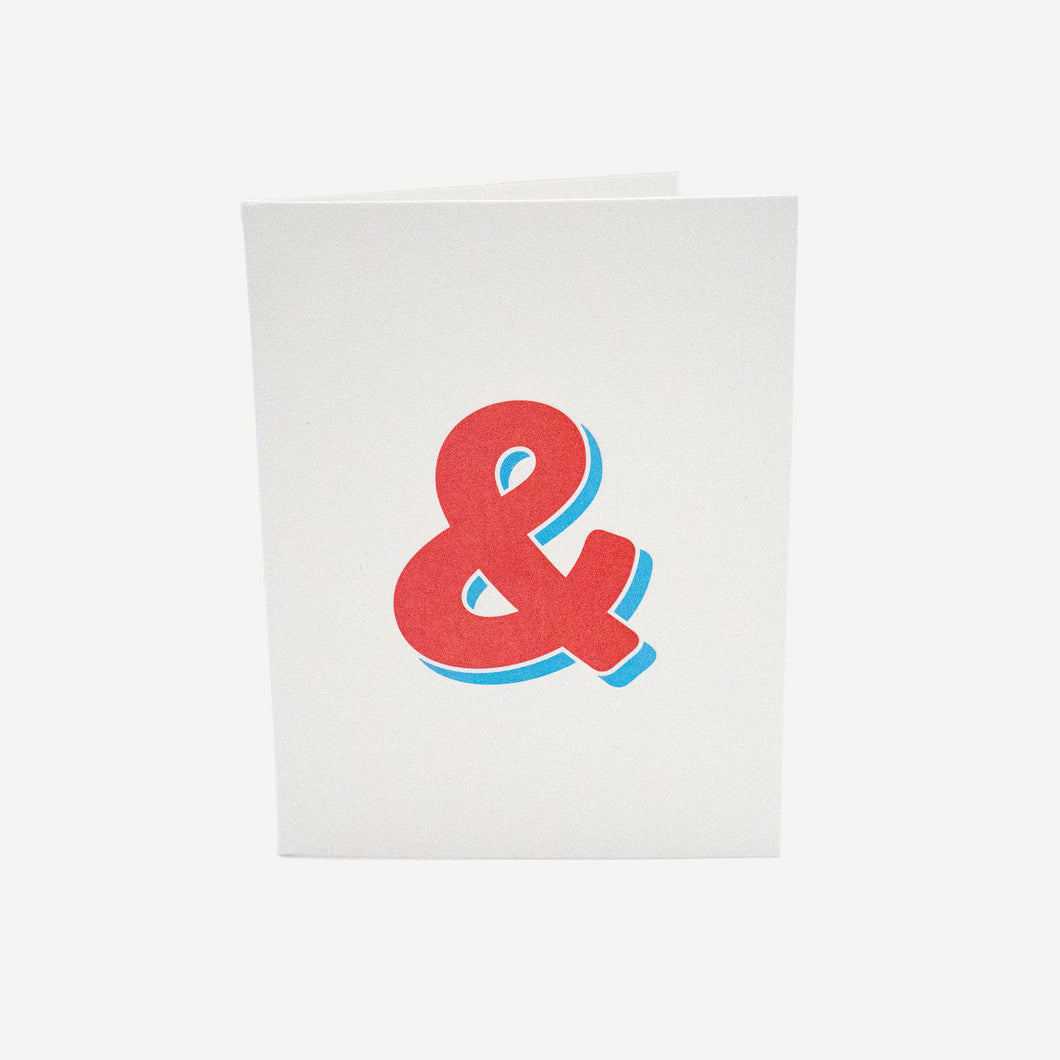 Ampersand Notecard