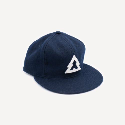 Wool Ball Cap (Navy)