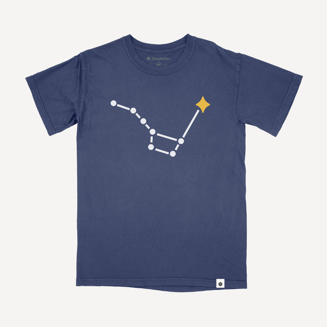North Star Tee (Navy)
